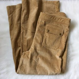 Code Mode Corduroy Wide Leg Pants
